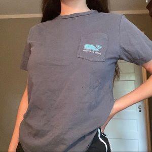 Blue-grey Vineyard Vines t-shirt